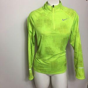 Nike Running Neon Women's Jacket XL dri Fit